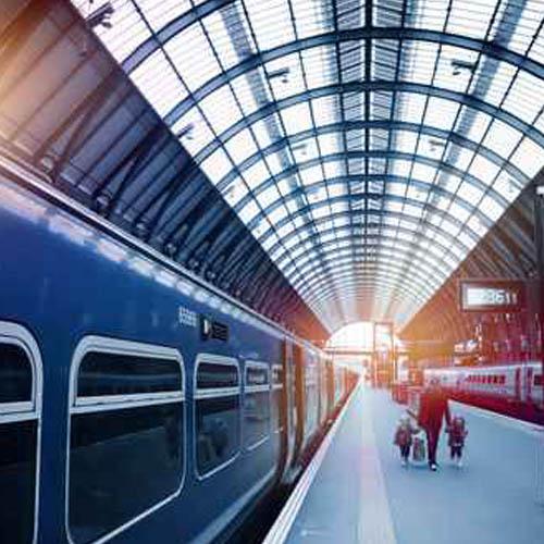 Ela Compil - zastosowanie na dworcach kolejowych